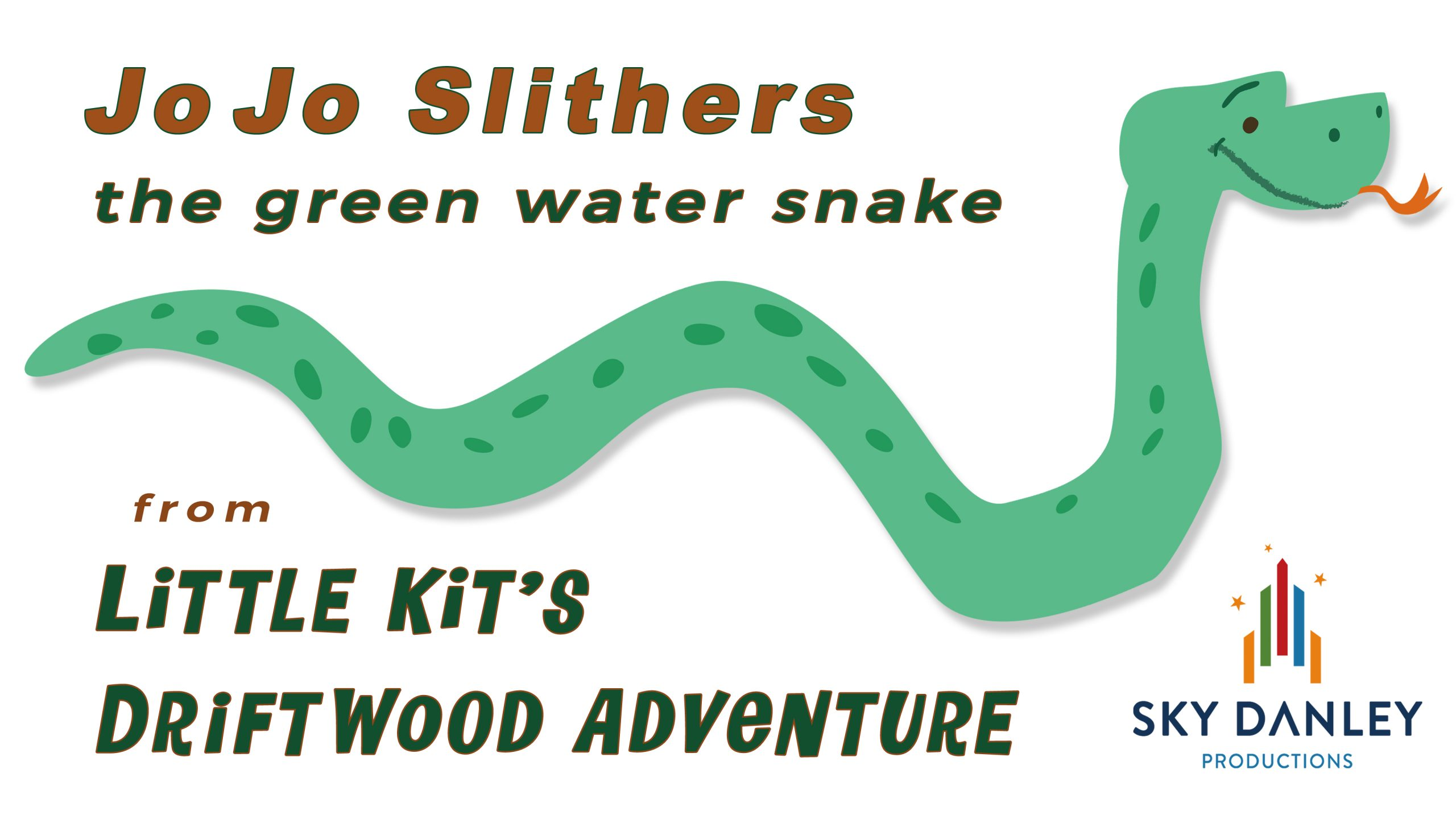 'Jo Jo Slithers', the green water snake
