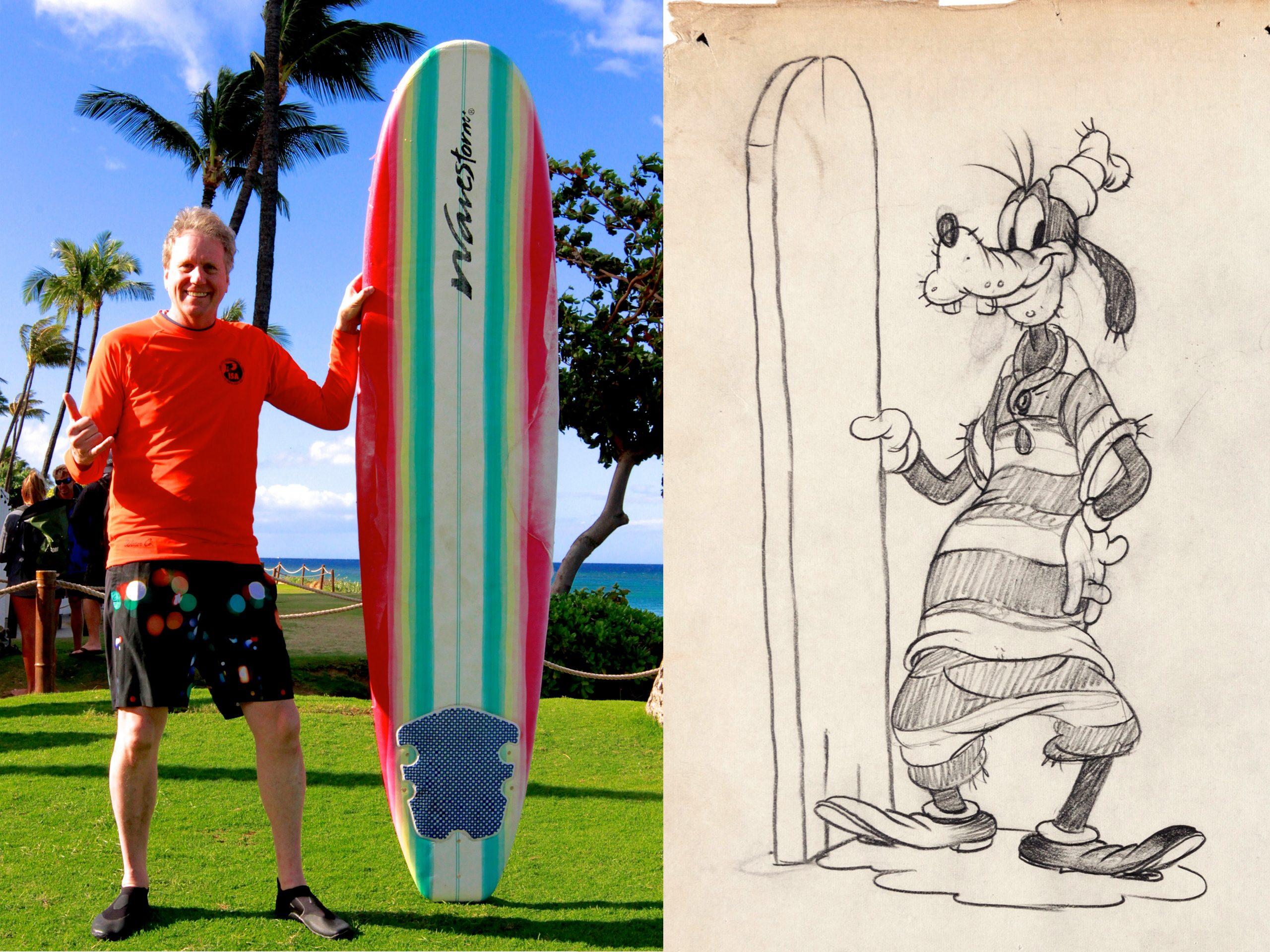 """Sky Danley's Goofy """"Hawaiian Holiday"""""""